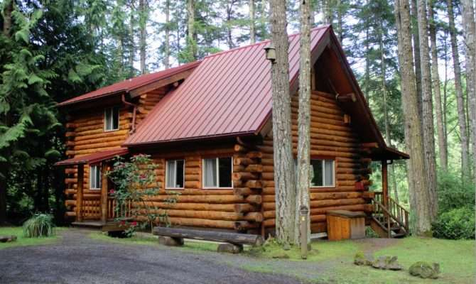 Our Log Cabin Adventure Lakedale Resort San Juan Islands
