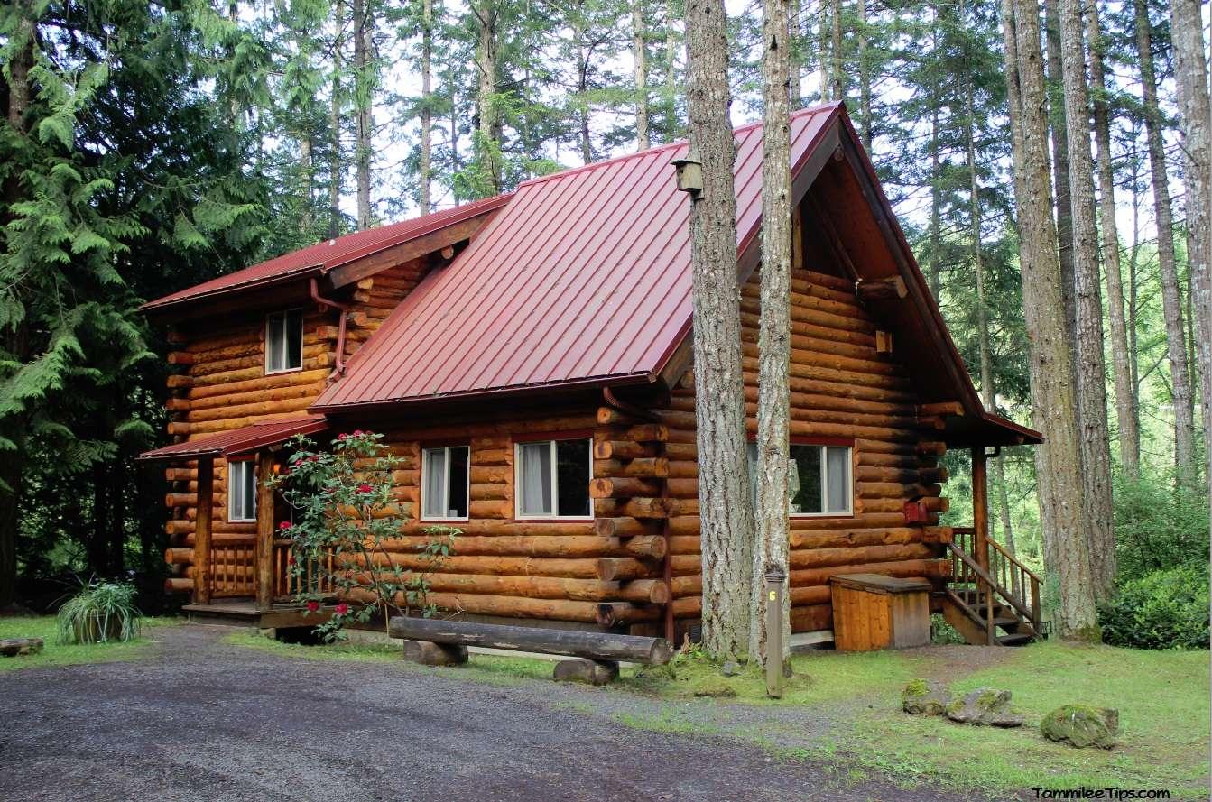 Our Log Cabin Adventure Lakedale Resort San Juan Islands