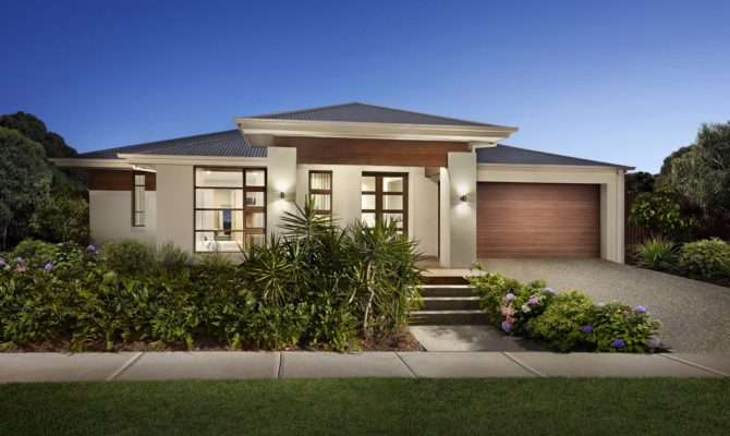 Our New Modern House Designs Plans Porter Davis