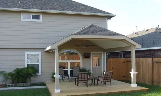 Outdoor Covered Deck Plans Top