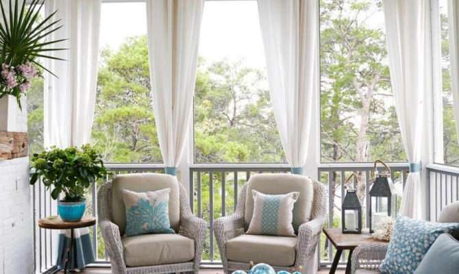 Outdoor Decor Amazing Curtain Ideas Porch