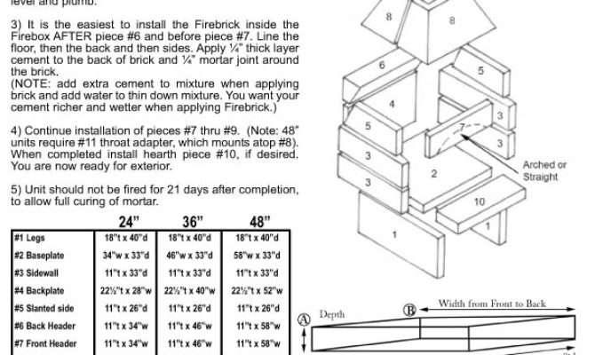 Outdoor Fireplace Construction Furniture Design
