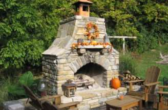 Outdoor Fireplace Plans Wheart Decor
