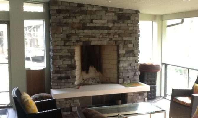Outdoor Fireplaces Fire Pits Columbus Decks Porches