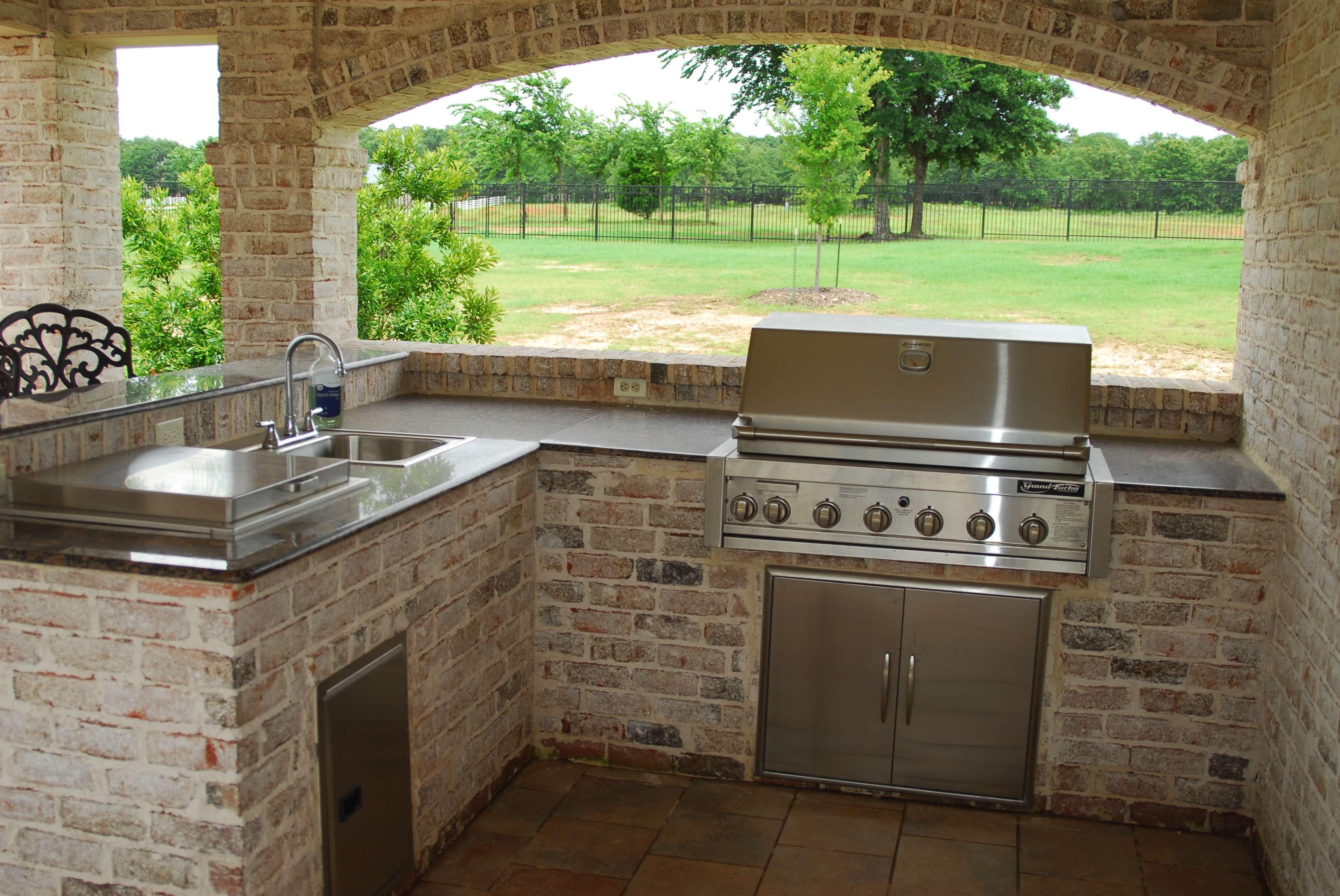 Outdoor Kitchen Colorado Wino Houston Outside