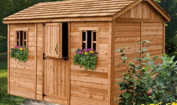 Outdoor Living Today Cabana Garden Shed Shipping