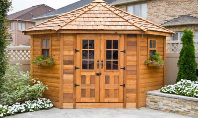 Outdoor Living Today Penthouse Garden Shed Shipping