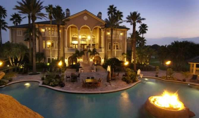 Outdoor Nice Houses Pools Rent Big Mansions
