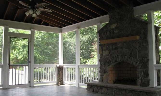 Outdoor Patio Designs Screened Porch Cost Screen
