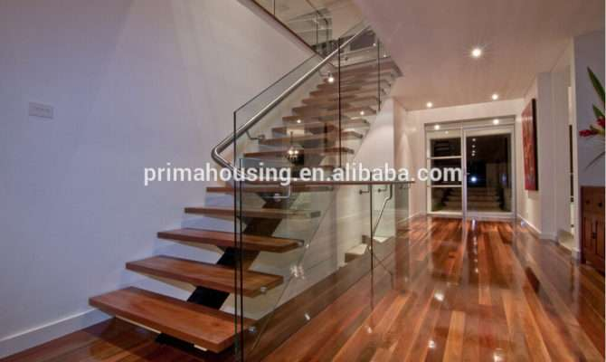 Outdoor Staircases Design Shaped Wood Staircase