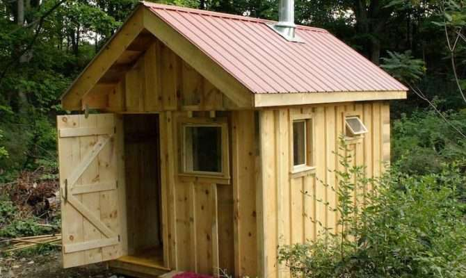 Outdoor Wood Burning Sauna Plans