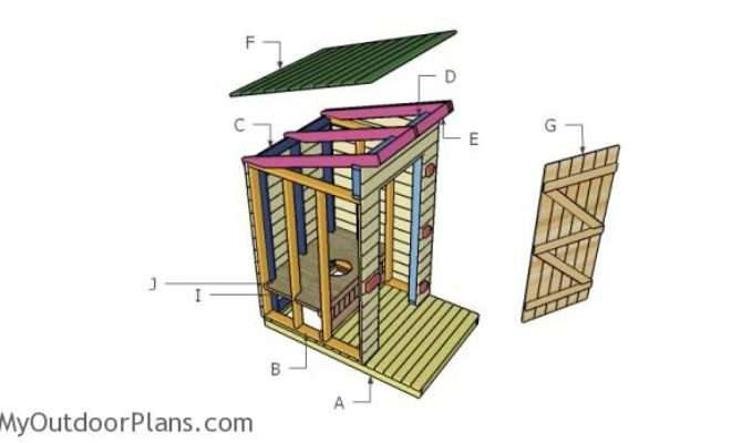 Outhouse Plans Myoutdoorplans Woodworking