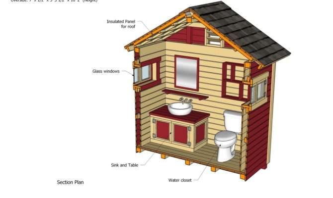 Outhouse Plans Out House