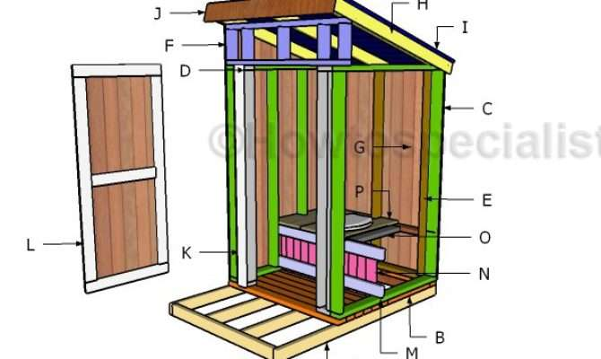 Outhouse Seat Plans Howtospecialist Build Step