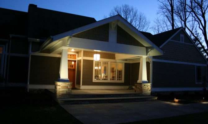 Owners Vision Transform Their Home Craftsman Porch