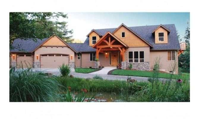 Pacific Northwest Craftsman Home Designs