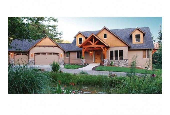 Pacific Northwest Craftsman Home Designs