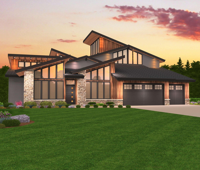 Pacific Northwest House Plans Beach Style Modern Vintage