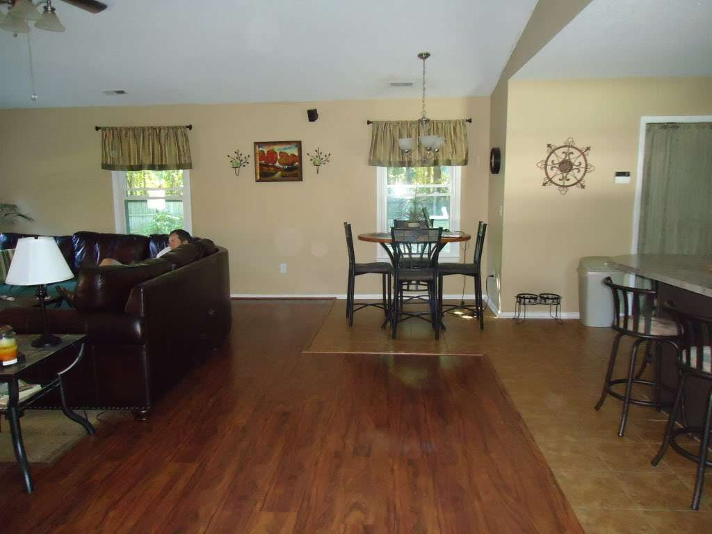 Paint Color Open Floor Plan Pics Included