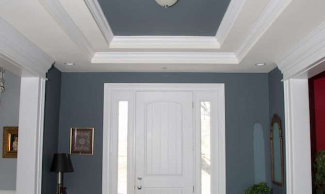 Painting Tray Ceilings Nolan