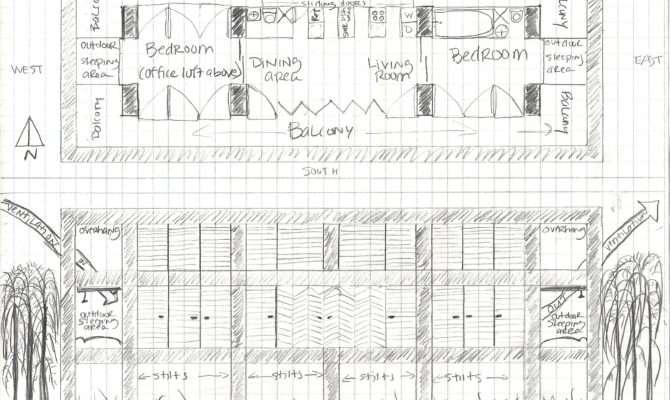 Panelized Passive Solar House Plans Home Floor