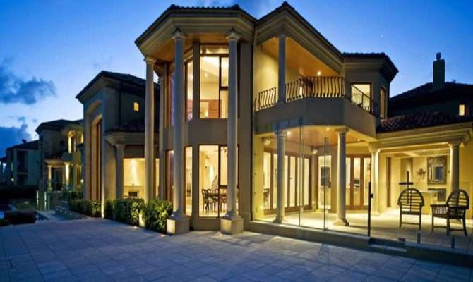 Panoramic Luxury Mansion Home Plans