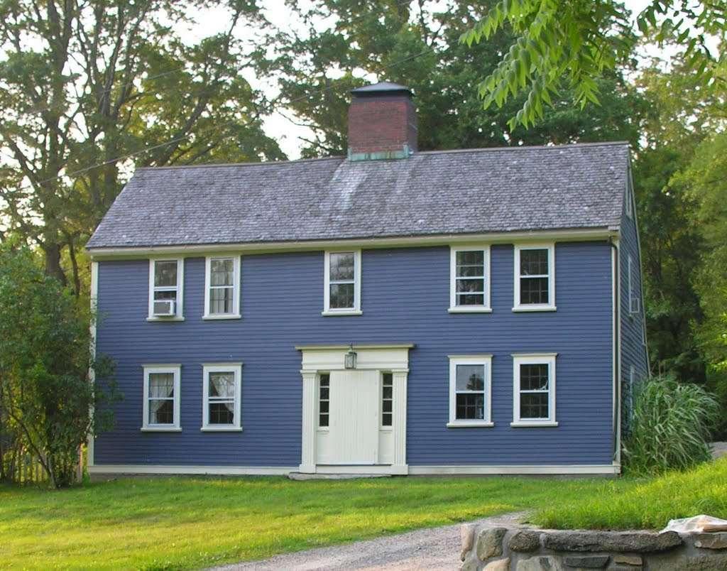 Panoramio Sherborn Colonial House Saltbox