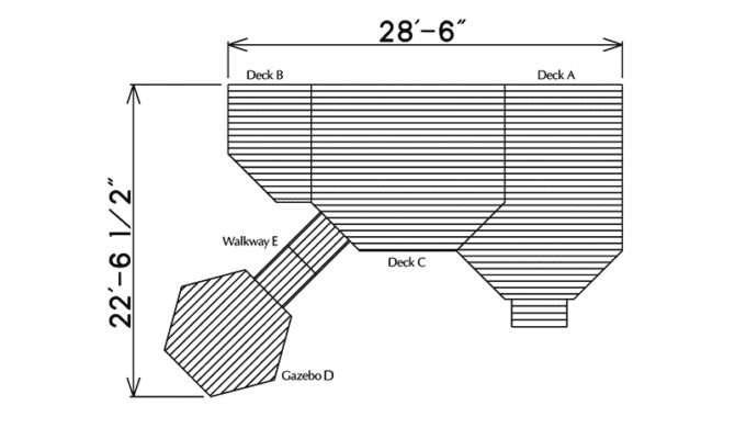 Park Place Deck Gazebo Plan House Plans More