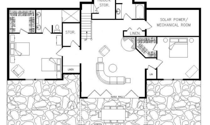 Passive House Plan Details Active Solar Zero Energy Home