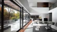 Patio Doors Open Plan Living Impressive Modern Home Toronto