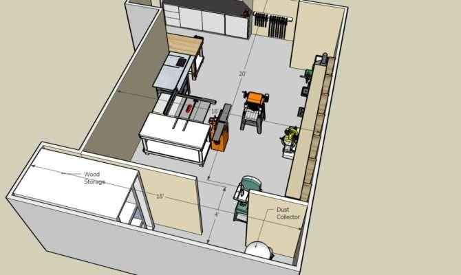 Pdf Diy Woodworking Shop Floor Plans