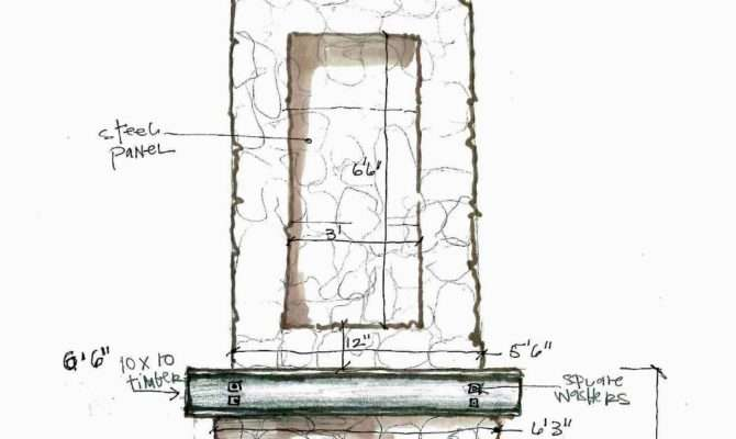 Pdf Fireplace Blueprints Plans