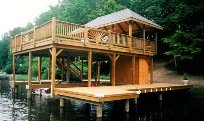 Pdf Lake Boat House Designs Northwest Wooden School