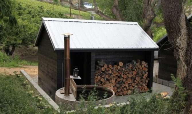 Pdf Plans Outdoor Wood Fired Sauna Kids