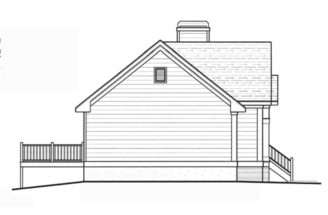 Pecan Island Raised Ranch Home Plan House Plans More