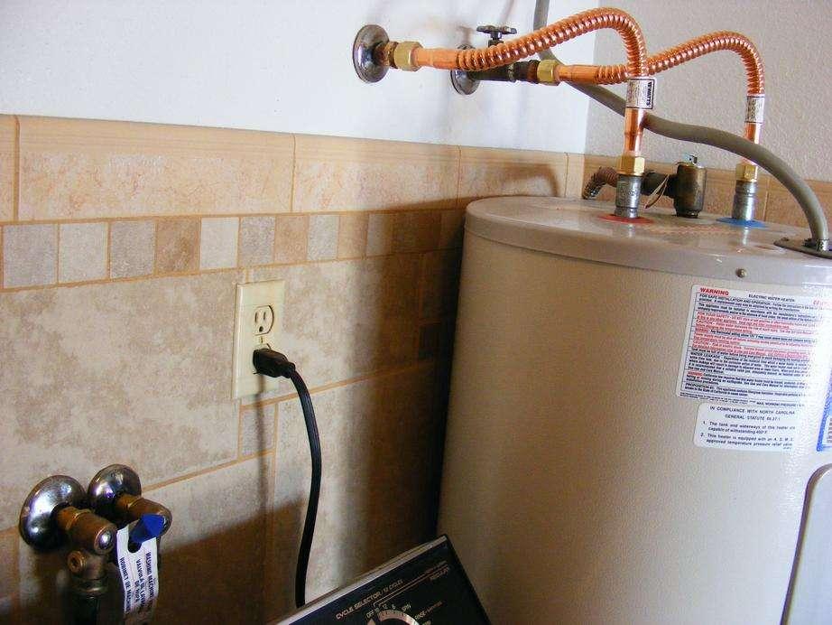 Pecos Sww Replace Utility Room Plumbing