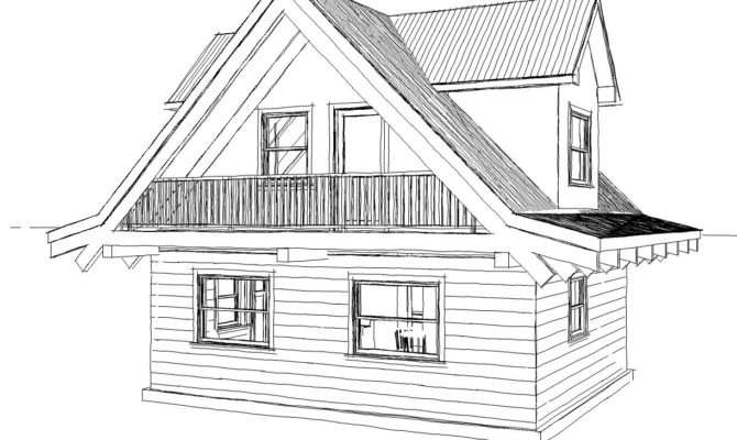 Pencil Drawings Small Log Cabins Joy Studio Design