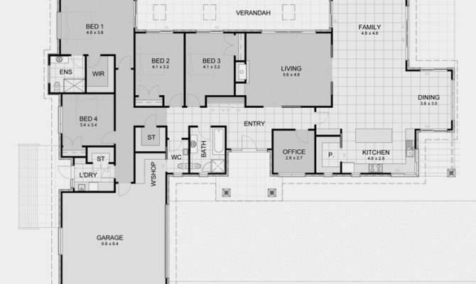 Perfect Rectangular Floor Plans Alternative