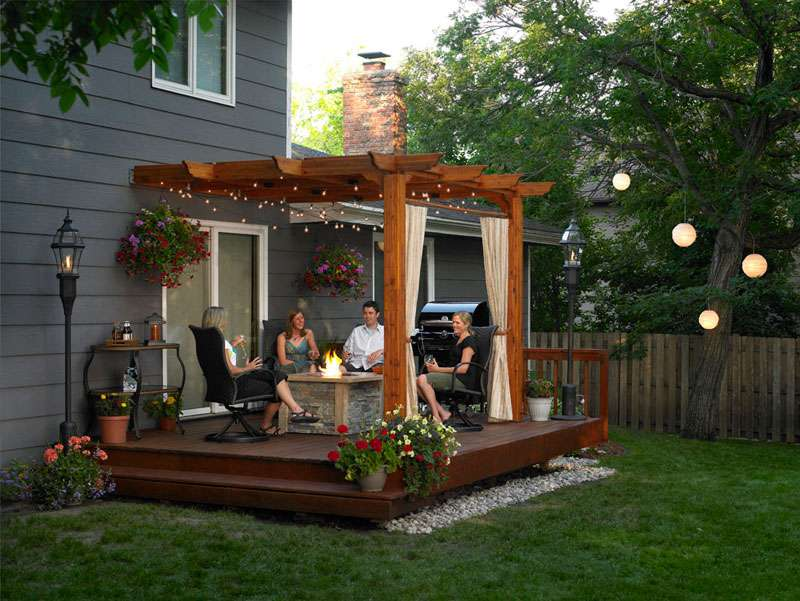 Pergola Decorating Ideas Room Home