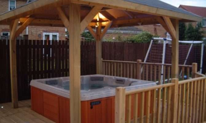 Pergola Design Ideas Hot Tub Gazebo Plan Simple