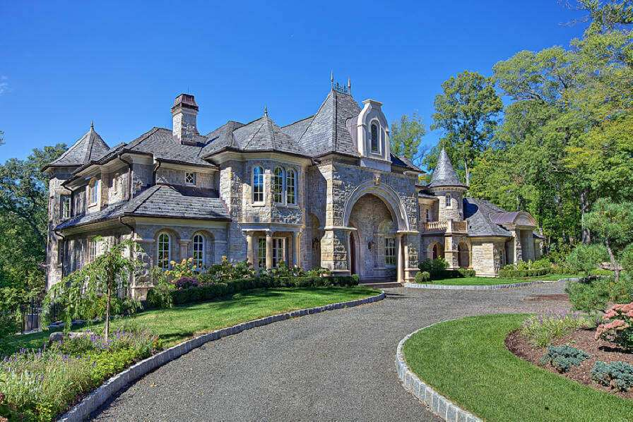 Period Style French Country Castle Walk Out Basement