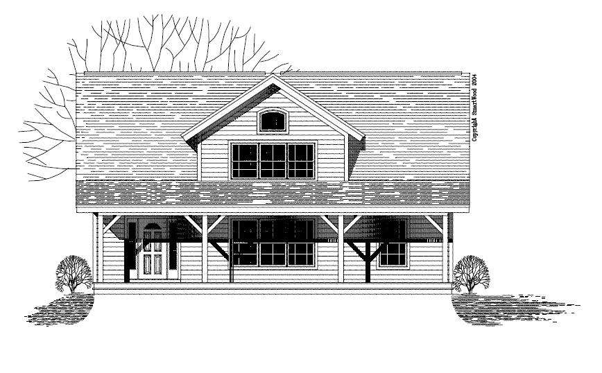 Perryhollow Craftsman Style Floor Plans