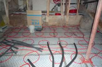 Pex Hot Water Tubing Black Foam Insulate Some Pipes