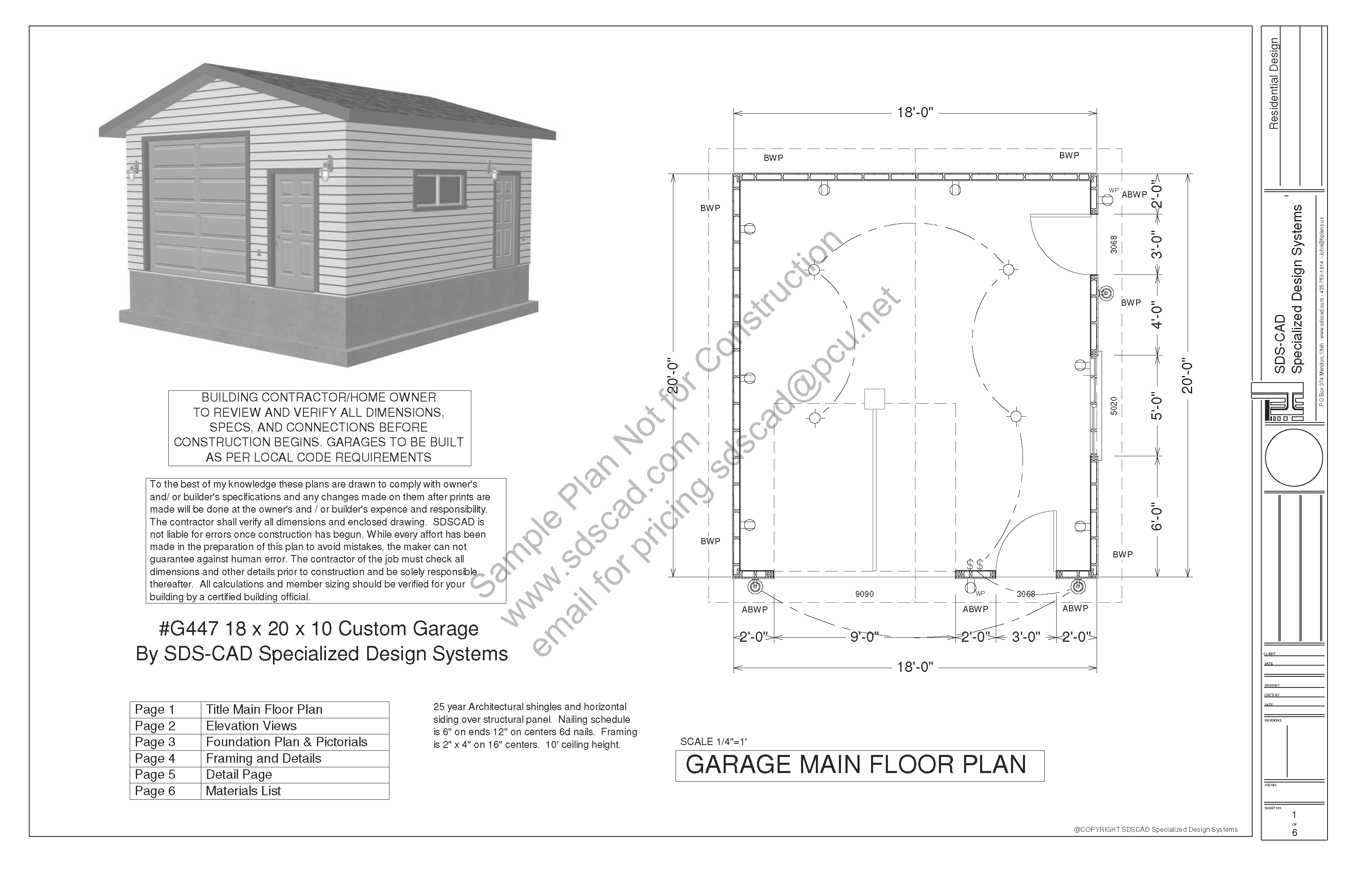 Photos Garage Blueprints Plans