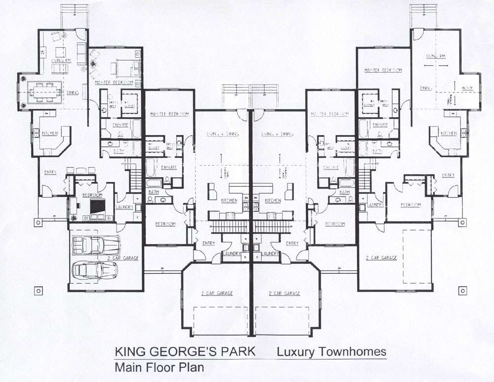 Pick Right Townhouse Floor Plans