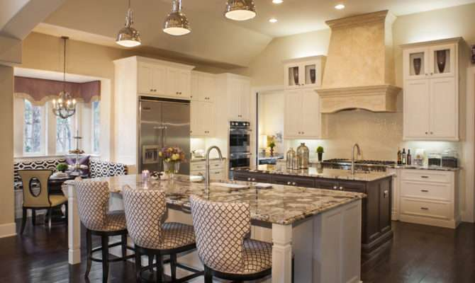 Pics Photos House Plans Big Kitchens