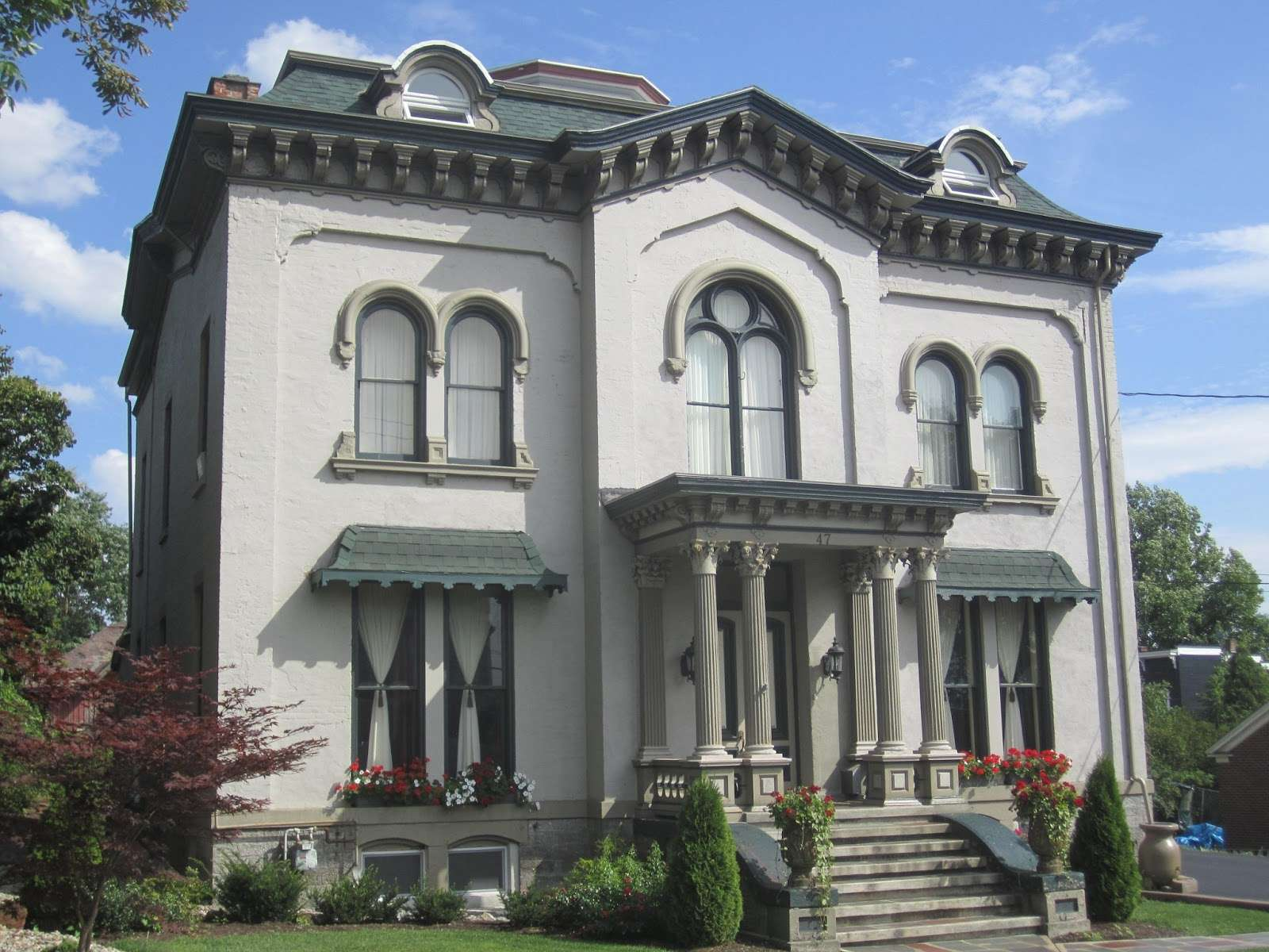 Picturesque Style Italianate Architecture John Kellogg House