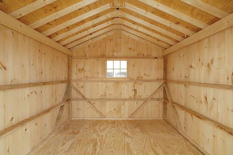 Pin Gambrel Garage Plan Shed House Plans Photos Pinterest