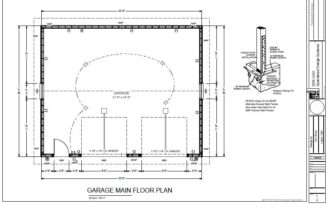 Pin Garage Plans Cad Design Drafting Services Pinterest