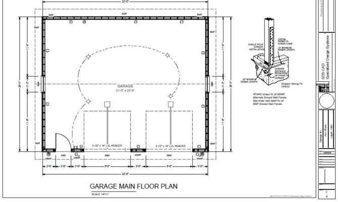 Pin Garage Plans Cad Design Drafting Services Pinterest